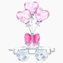 Swarovski Heart Balloons Wagon
