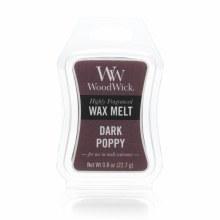 Woodwick Melt Dark Poppy