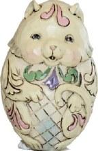 Jim Shore Egg Figurine Kitty