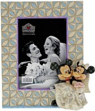 Jim Shore Mickey & Minnie Wedding Frame