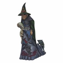 Jim Shore JS HWC Fig Evil Witch With Sku