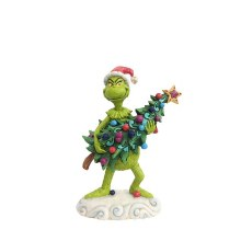 Jim Shore JS Grinch Fig Grinch Stealing