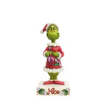 Jim Shore JS Grinch Fig Two-Sided Naught
