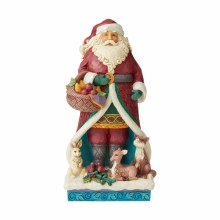 Jim Shore JS HWC Fig Wondr Santa With An