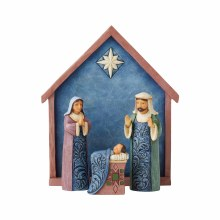 Jim Shore 4 piece Mini Nativity Set