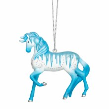 Painted Ponies Holiday Ice Ornament