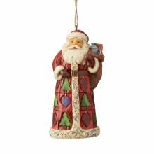 Jim Shore JS HWC HO Santa With Toy Bag