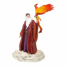 Dumbledore w/ Fawkes Figurine - Harry Potter