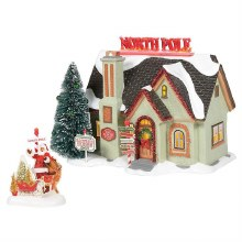 Department 56 The North Pole House