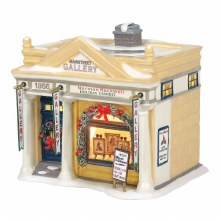 Department 56 Rockwell's Holiday Exhibit