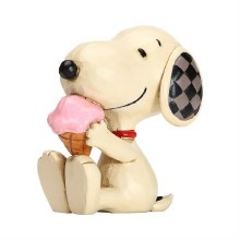 Jim Shore Snoopy Ice Cream
