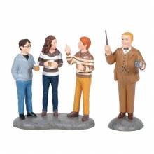 Professor Slughorn & the Trio - Harry Potter