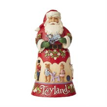 Jim Shore Heartwood Creek Toyland Santa