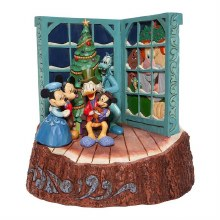 Jim Shore Disney Traditions Mickey's Christmas Carol