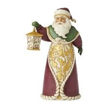 Jim Shore Heartwood Creek Santa With Lantern
