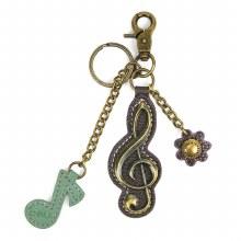 Charming Key Chain  CLEF