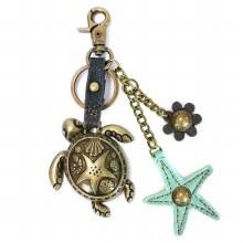 Charming Key Chain  TURTLE & S