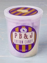 Peanut Butter & Jelly Cotton Candy