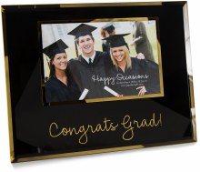 "Congrats - 9.25"" x 7.25"" Frame (Holds 6"" x 4"" Photo)"