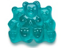 Light Blue Watermelon Gummi Bear