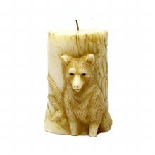 American Candle Animal Wolf Candle