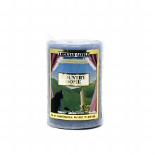 American Candle Country Home Blue 2x3