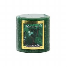 American Candle Bayberry 3x3 Pillar Candle