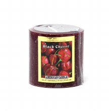American Candle Black Cherry 3x3 Pillar Candle