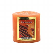 American Candle Cinnamon 3x3 Pillar Candle