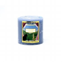 American Candle Country Home Blue 3x3