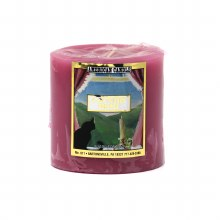 American Candle Country Home Mauve 3x3