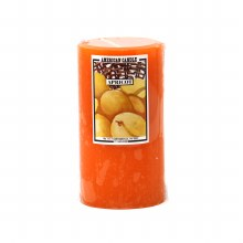 American Candle Apricot 3X6 Pillar Candle