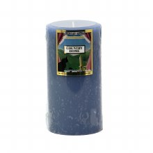 American Candle Country Home Blue 3X6
