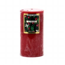 American Candle Cranberry 3X6 Pillar Candle