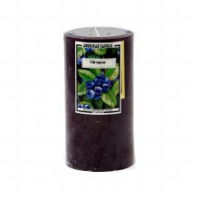 American Candle Grape 3X6 Pillar Candle
