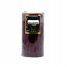 American Candle Mulberry 3X6 Pillar Candle