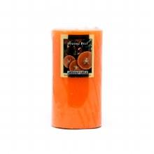 American Candle Orange 3X6 Pillar Candle