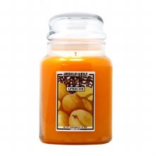 American Candle Apricot 22 OZ Jar Candle