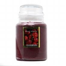 American Candle Black Cherry 22 OZ Jar Candle