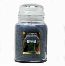 American Candle Country Home Blue 22 OZ Jar