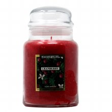 American Candle Cranberry 22 OZ Jar Candle