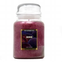 American Candle Plum 22 OZ Jar Candle