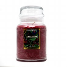 American Candle Raspberry 22 OZ Jar Candle