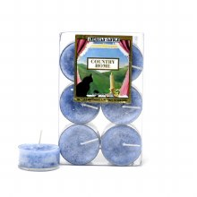 American Candle Country Home Blue Tea Lights