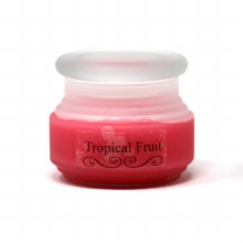 American Candle Tropical Fruit Frosted Jar