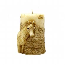 American Candle Animal Zebra Candle