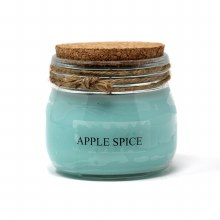 American Candle Apple Spice Cork Top Jar