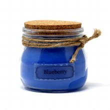 American Candle Blueberry Cork Top Jar Candle