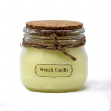 American Candle French Vanilla Cork Top Jar