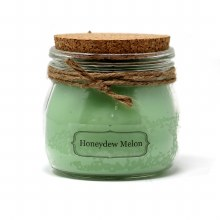 American Candle Honeydew Cork Top Jar Candle